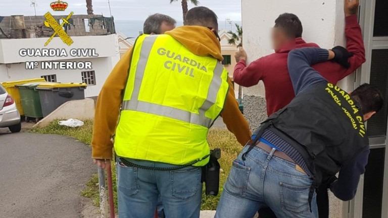 Esclarecen un robo con violencia en Gáldar
