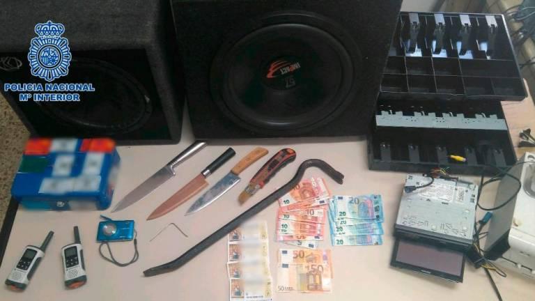Cae un grupo criminal de robo con violencia en establecimientos comerciales