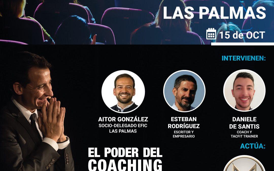 15 Octubre Congreso Coaching Puro Las Palmas.