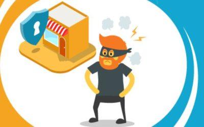 Evitar robos en un comercio o tienda