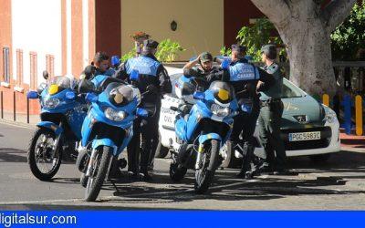 Guía de Isora – La Policía detiene al presunto autor de varios robos en Guía casco.