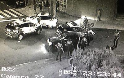 Detenidos dos hombres por un intento de atraco en el barrio de La Salud.